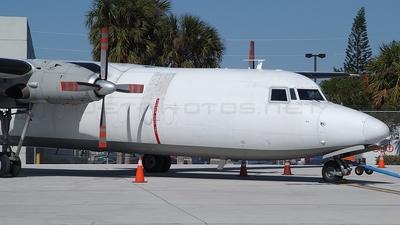 N722FE - Fokker F27-500 Friendship - FedEx Feeder (Mountain Air Cargo)