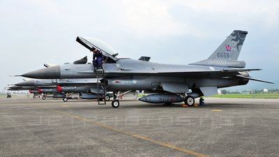 6659 - General Dynamics F-16AM Fighting Falcon - Taiwan - Air Force