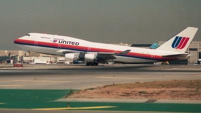 N174UA - Boeing 747-422 - United Airlines