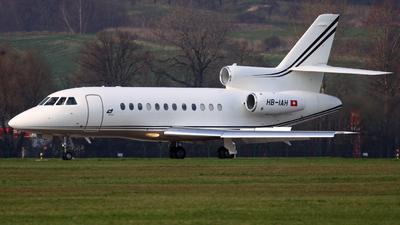 HB-IAH - Dassault Falcon 900EX - TAG Aviation
