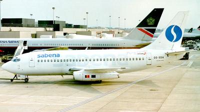 OO-SDA - Boeing 737-229(Adv) - Sabena