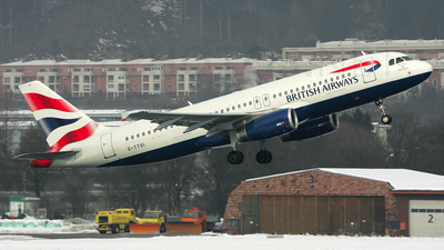 G-TTOI - Airbus A320-232 - British Airways (GB Airways)