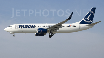YR-BGP - Boeing 737-86J - Tarom - Romanian Air Transport