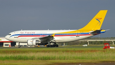 PK-KDW - Airbus A310-324 - Air Paradise International