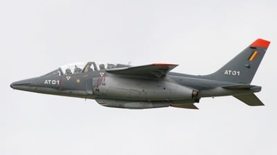AT-01 - Dassault-Dornier Alpha Jet 1B+ - Belgium - Air Force