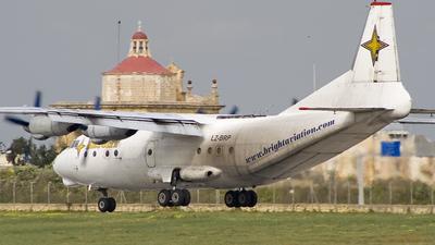 LZ-BRP - Antonov An-12B - Bright Aviation Services