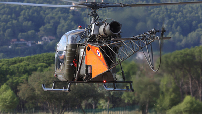 F-GRIG - Aérospatiale AS 313B Alouette II - Private