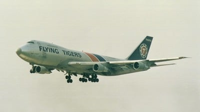 N805FT - Boeing 747-132(SF) - Flying Tigers