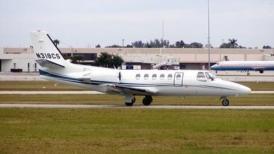 N319CS - Cessna 550B Citation Bravo - Private