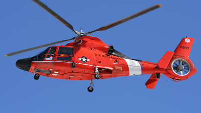 6517 - Aérospatiale HH-65C Dolphin - United States - US Coast Guard (USCG)