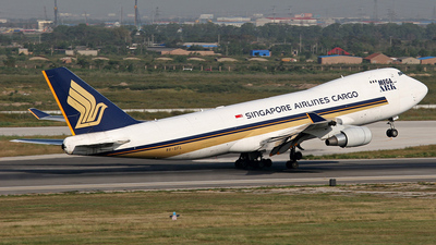 9V-SFL - Boeing 747-412F(SCD) - Singapore Airlines Cargo