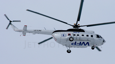 LZ-CAV - Mil Mi-8PS Hip - WFP United Nations Humanitarian Air Service