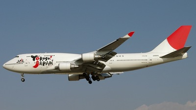 JA8919 - Boeing 747-446 - Japan Airlines (JAL)