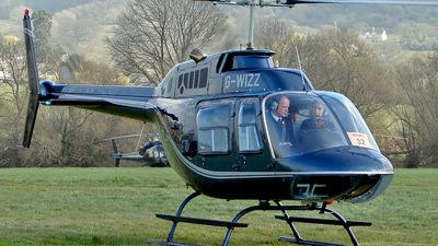 G-WIZZ - Agusta-Bell AB-206B JetRanger II - Private