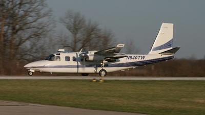 A picture of N840TW - Rockwell 690C - [11689] - © J. Scott Gerken