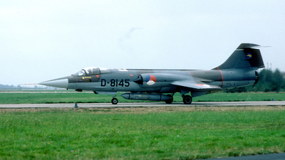 D-8145 - Lockheed RF-104G Starfighter - Netherlands - Royal Air Force