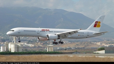 EC-FYK - Boeing 757-256 - Iberia
