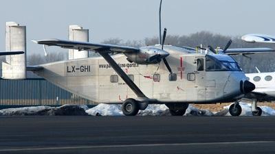 LX-GHI - Short SC-7 Skyvan 3-100 - CAE Aviation