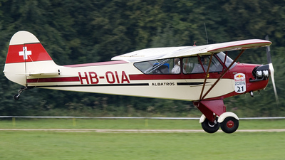 HB-OIA - Piper J-3C-65 Cub - Private