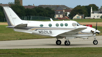 A picture of N521LB - Beech E90 King Air - [LW249] - © John Fitzpatrick