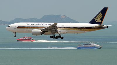 9V-SQD - Boeing 777-212(ER) - Singapore Airlines
