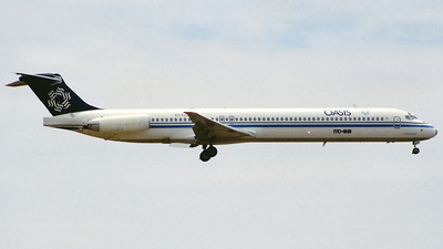 EC-EZU - McDonnell Douglas MD-83 - Oasis International Airlines