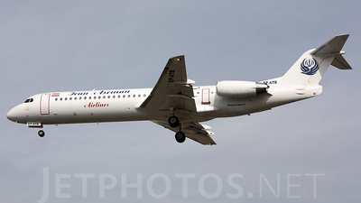 EP-ATB - Fokker 100 - Iran Aseman Airlines
