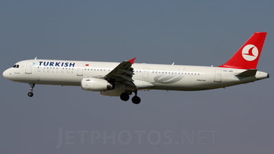 TC-JRI - Airbus A321-231 - Turkish Airlines