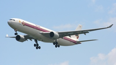 HS-TED - Airbus A330-321 - Thai Airways International