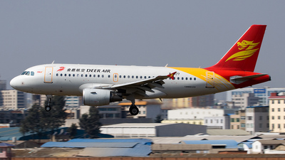 B-6177 - Airbus A319-112 - Deer Air