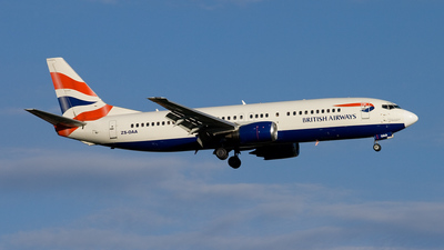 ZS-OAA - Boeing 737-4L7 - British Airways (Comair)
