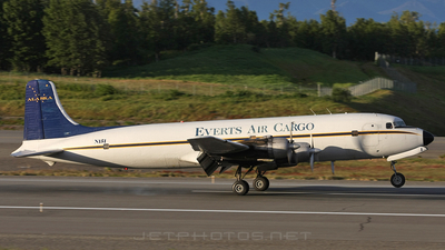 N151 - Douglas DC-6B - Everts Air Cargo