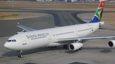 ZS-SLC - Airbus A340-211 - South African Airways
