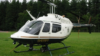 N613SS - Bell 206B JetRanger - United States - King County Sheriff Department
