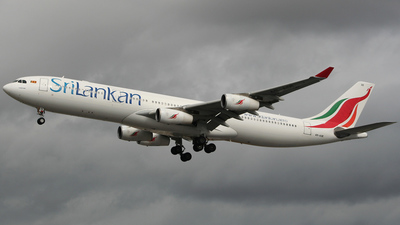 4R-ADE - Airbus A340-313X - SriLankan Airlines