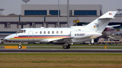 N168BF - Raytheon Hawker 800XP - Private