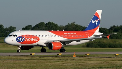 OY-VKS - Airbus A320-214 - MyTravel Airways AS
