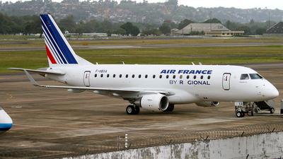 F-HBXA - Embraer 170-100LR - Air France (Régional Compagnie Aerienne)