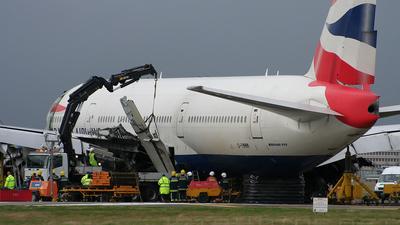 G-YMMM - Boeing 777-236(ER) - British Airways
