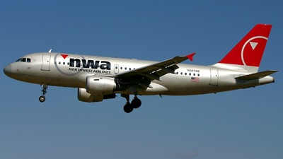 N365NB - Airbus A319-114 - Northwest Airlines