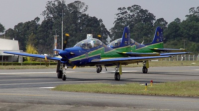 FAB1358 - Embraer T-27 Tucano - Brazil - Air Force