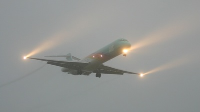 JA001D - McDonnell Douglas MD-90-30 - Japan Air System (JAS)