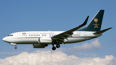 HZ-MF1 - Boeing 737-7FG(BBJ) - Saudi Arabia - Ministry of Finance