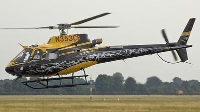 N353CE - Eurocopter AS 350B3 Ecureuil - Schuybroek Aviation