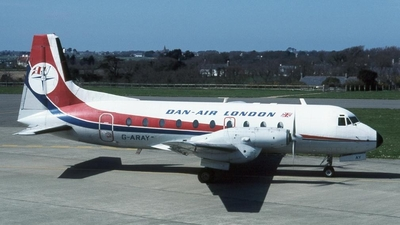 G-ARAY - Hawker Siddeley HS-748 - Dan-Air London