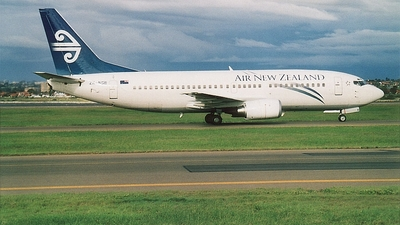 ZK-NGB - Boeing 737-36Q - Air New Zealand