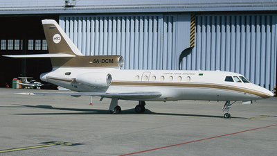 5A-DCM - Dassault Falcon 50 - Libyan Arab Airlines