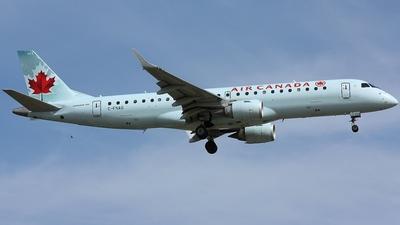 C-FNAQ - Embraer 190-100IGW - Air Canada