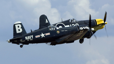 F-AZVJ - Chance Vought F4U-4 Corsair - Private