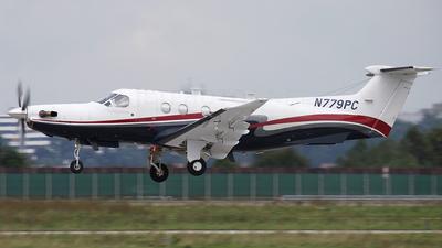 A picture of N779PC - Pilatus PC12/47 -  - © Dominik Burger